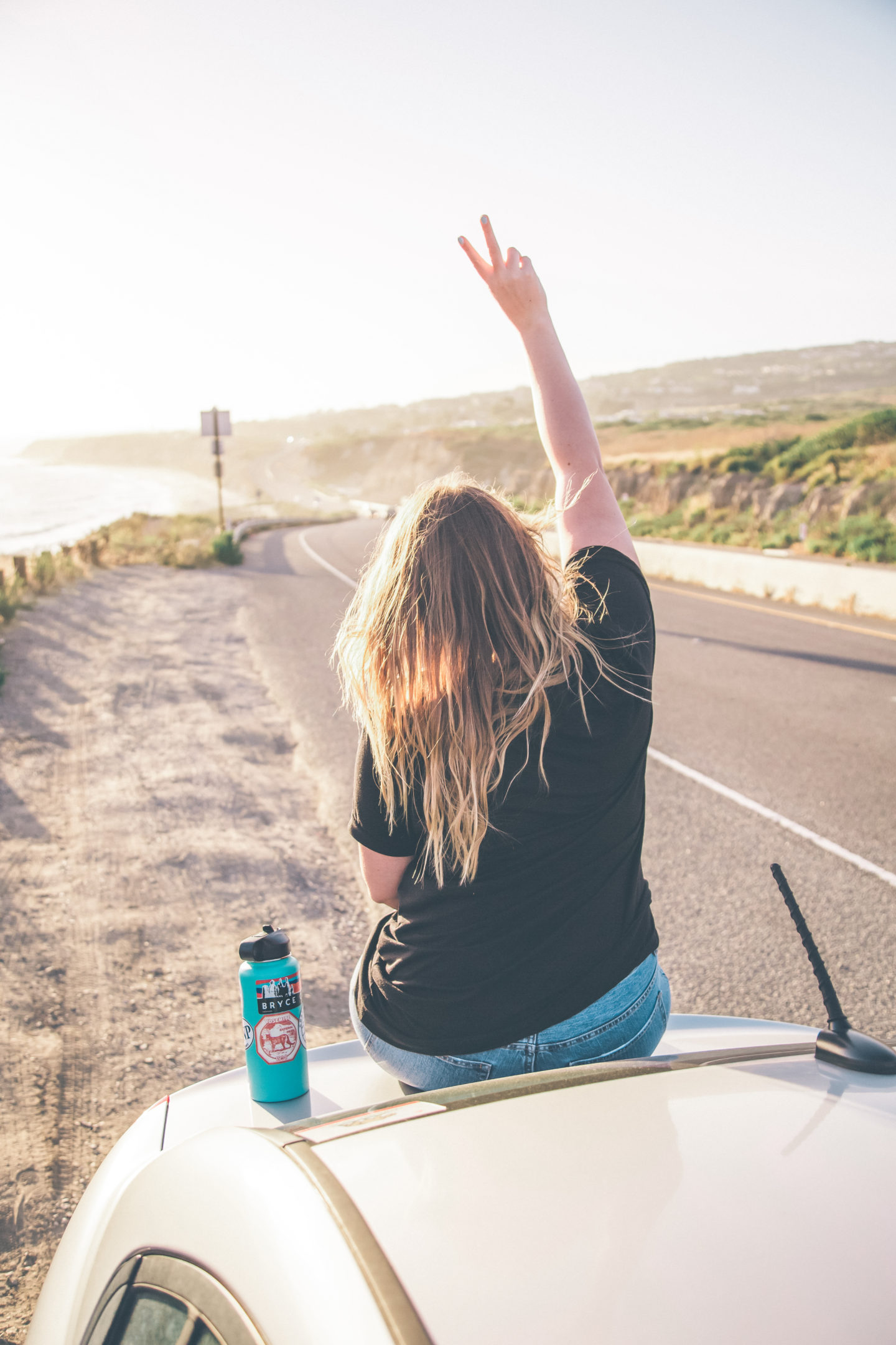 california road trip, take the long way home t-shirt // wander abode