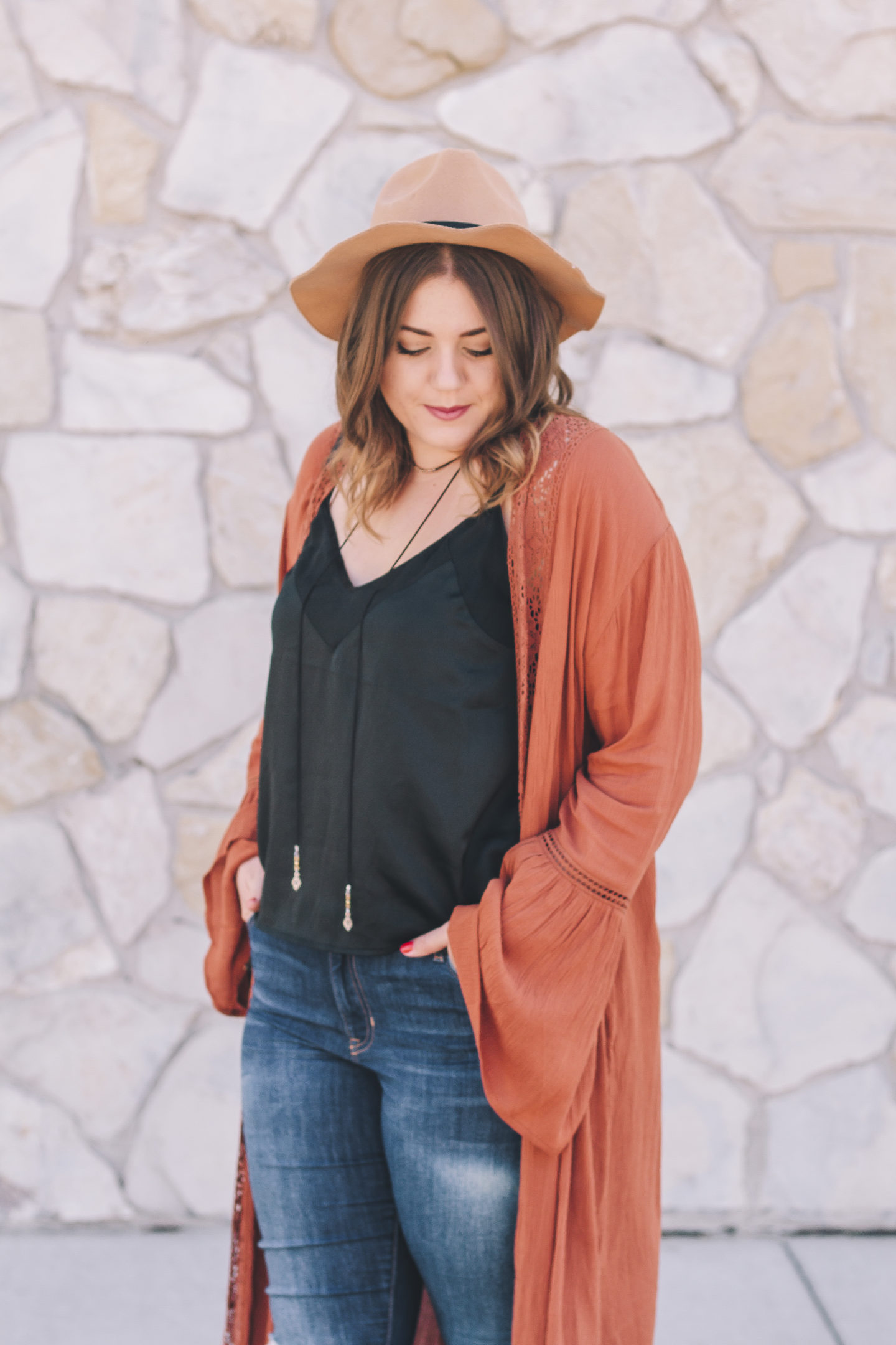 A Thanksgiving Outfit | Rust Duster // www.wanderabode.com