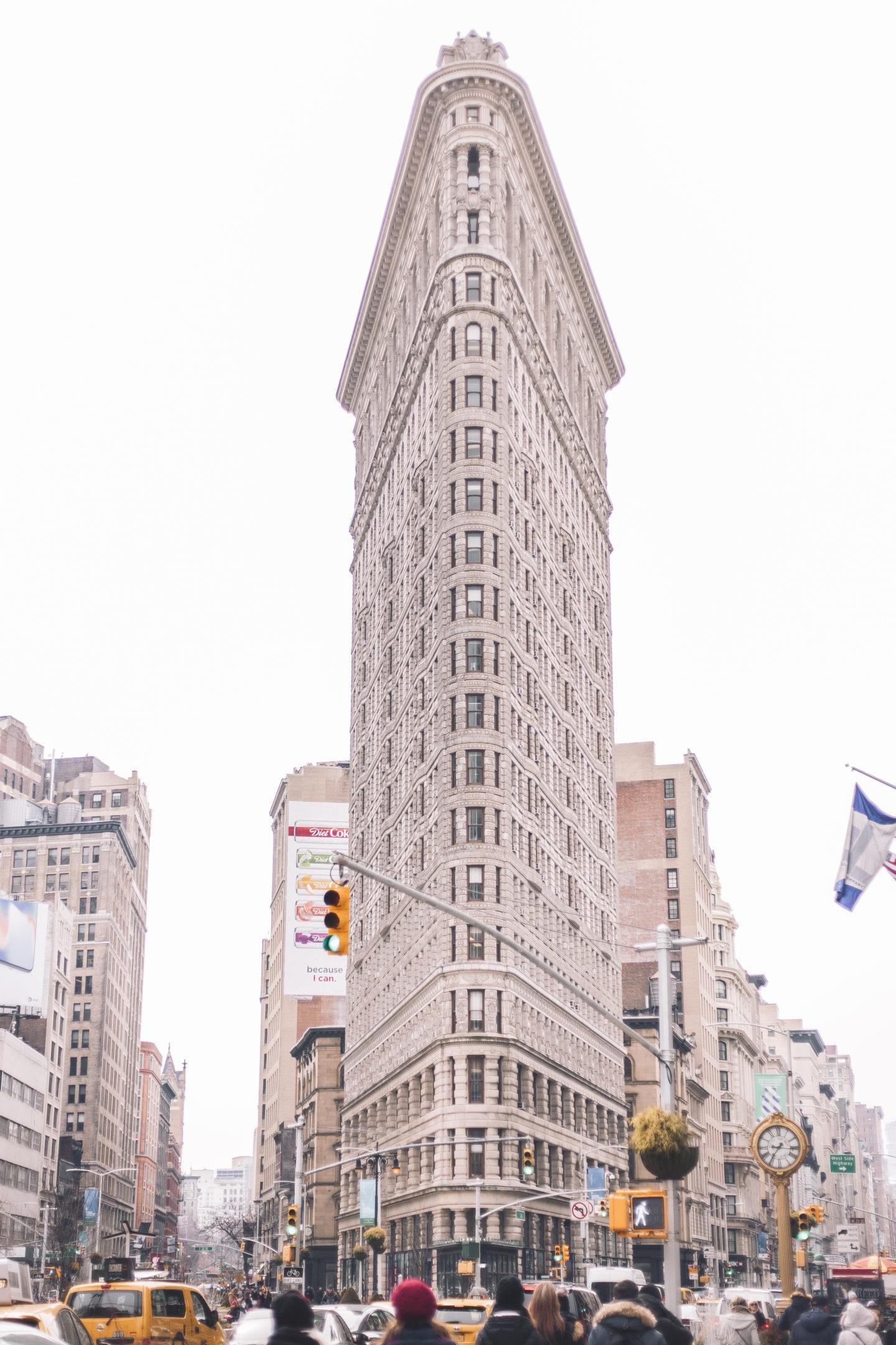 flatiron building, flatiron district, manhattan, new york city