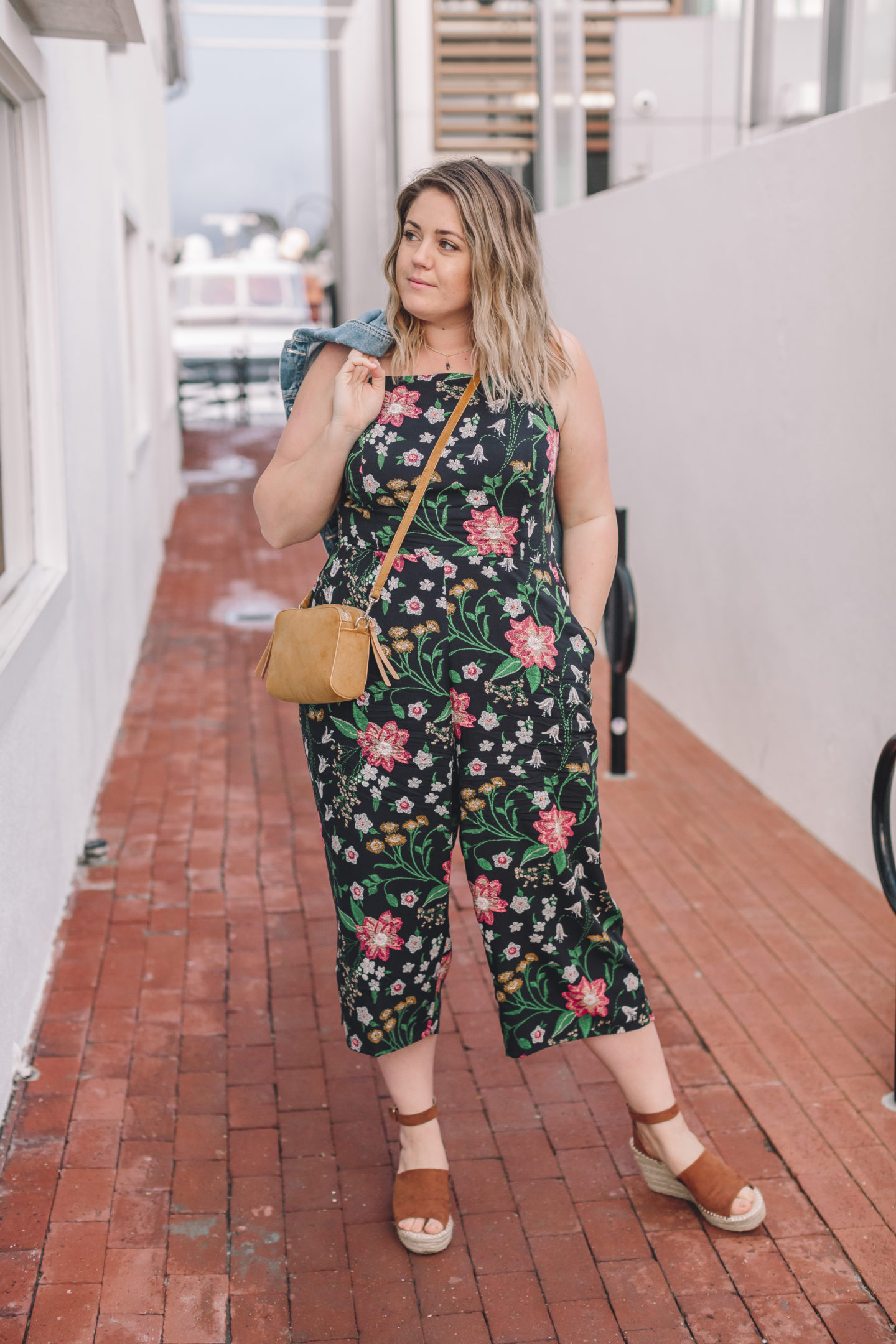 Spring It On! - Floral Jumpsuit - wander abode, spring outfit