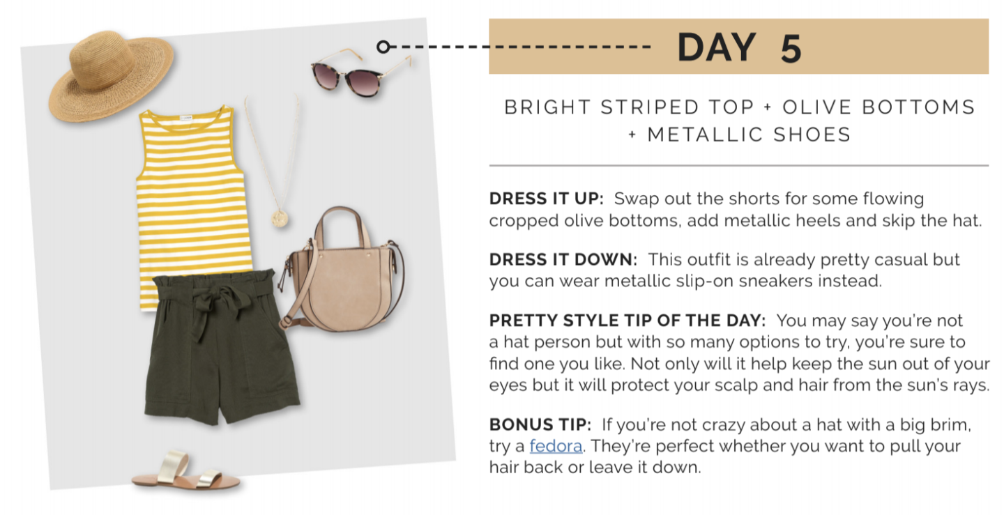 summer outfit ideas | How To Create A Summer Capsule Wardrobe