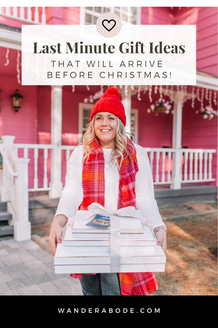Last Minute Gift Ideas that will arrive before Christmas! // wanderabode.com