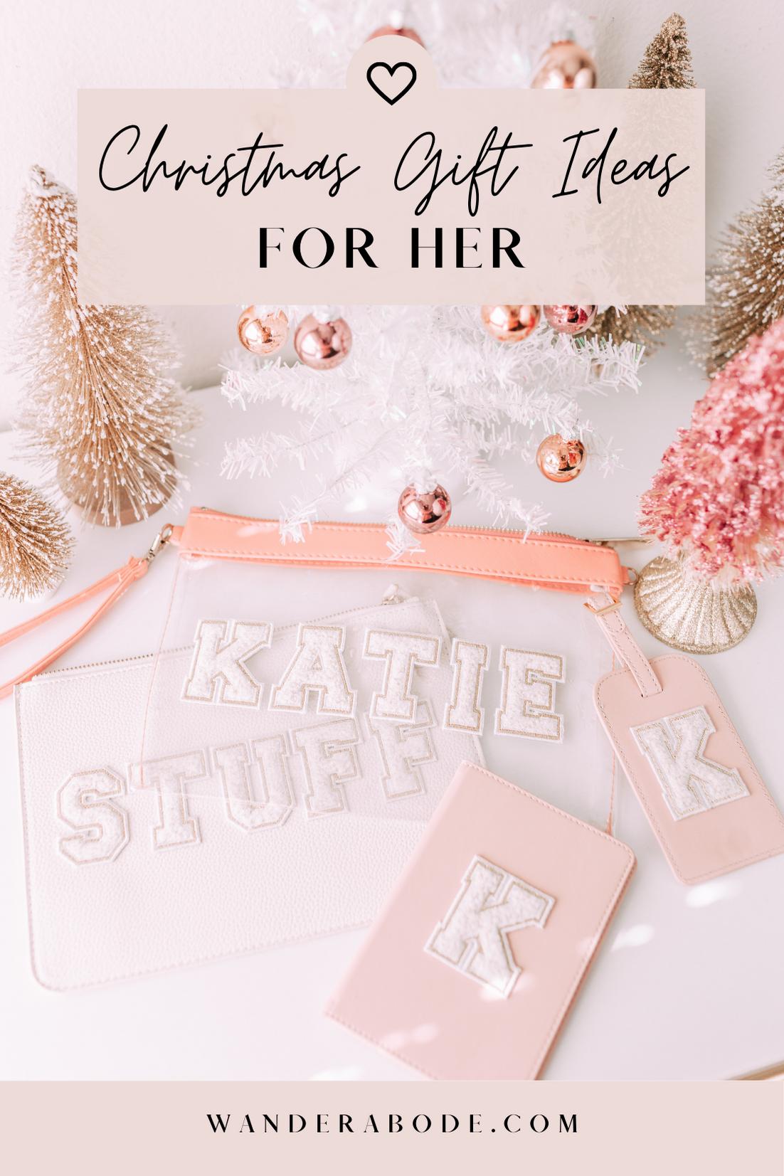 Christmas Gift Ideas for Her // wanderabode.com
